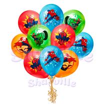 Облако шаров Человек-Паук