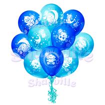 Облако шаров на рождение мальчика