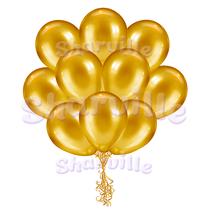 Облако золотых шаров