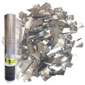 Пневмохлопушка Серебряное конфетти (30см)