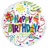 """Шар """"Happy Birthday"""" Гигант 85см"""