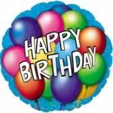 "Шар ""Happy Birthday"""