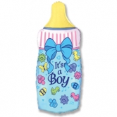"Шар ""Бутылочка для мальчика"" 81см"
