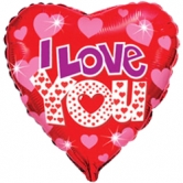 """Шар """"I love you"""""""