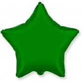 """Шар """"Звезда"""" зеленый"""