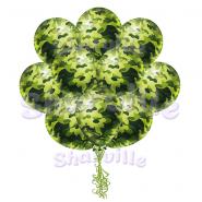 Облако шаров Камуфляжные