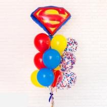 """Букет шаров """"Супермен"""""""