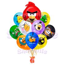 """Букет шаров """"Angry birds"""""""