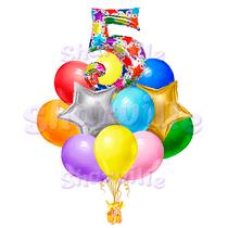 """Букет шаров """"С днем рождения, малыш!"""""""