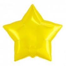 """Шар """"Звезда"""" желтая"""