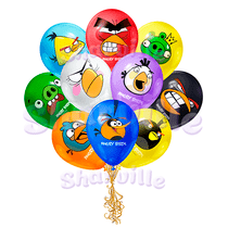 Облако шаров Angry Birds