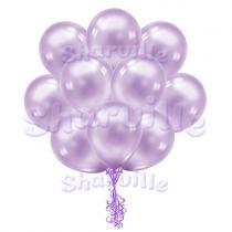 Облако фиолетовых перламутровых шаров