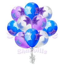 Облако шаров Снежинки