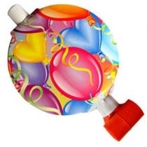Язычок-гудок с шариками 1шт