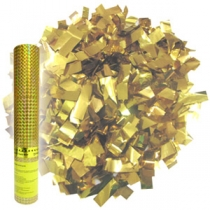 Пневмохлопушка Золотое конфетти (30см)