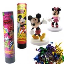 Хлопушка пружинная Микки Маус с игрушкой (21см)