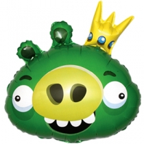 """Angry Birds зеленый"" 64см"