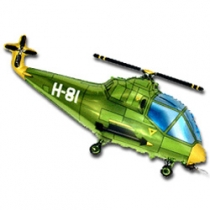 """""""Вертолет зеленый"""" 97см"""