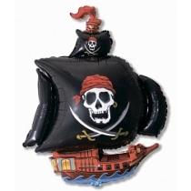 """""""Пиратский корабль черный"""" 104см"""