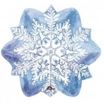 """Шар """"Голубая снежинка"""" 46см"""