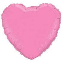 """Шар """"Сердце"""" розовый"""