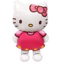 "Ходячий шар ""Hello Kitty"" 1,3м"