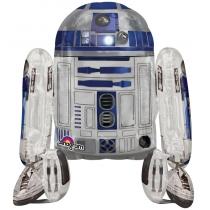 """Ходячий шар """"Робот R2D2"""" 1,1м"""