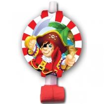 """Язычок-гудок """"Пираты"""" 1шт"""