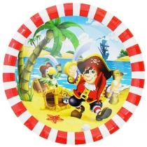 "Тарелки ""Пираты"" 6шт"