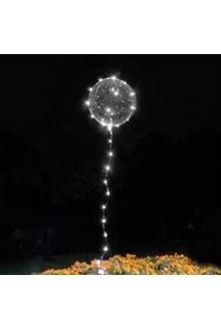 Шары Бобо (BoBo) c белой подсветкой