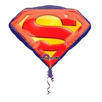 """Шар """"Супермен"""" эмблема 66см"""