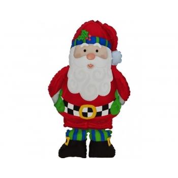 """Ходячий шар """"Санта"""" 1метр"""