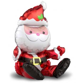 """Шар """"Дед Мороз"""" сидящий"""