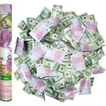 Хлопушка с деньгами (40 см)