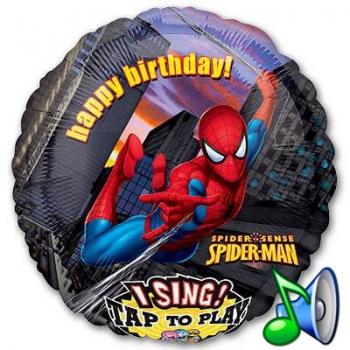 "Поющий шар ""Человек-паук"""