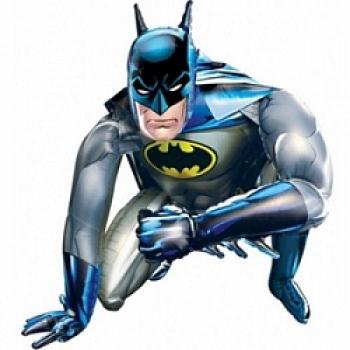 """Ходячий шар """"Бэтмен"""" 1м"""