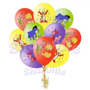 Шары с рисунком Винни-Пух Disney